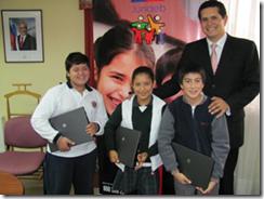 Junaeb amplía  plazo para ingreso de notas de alumnos preseleccionados de Programa Yo Elijo Mi PC 2012
