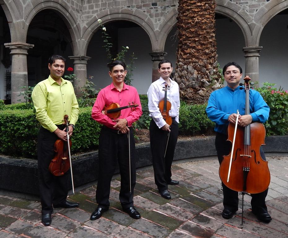 La catrina quartet ofrecer hoy concierto en temuco for Casa de musica temuco