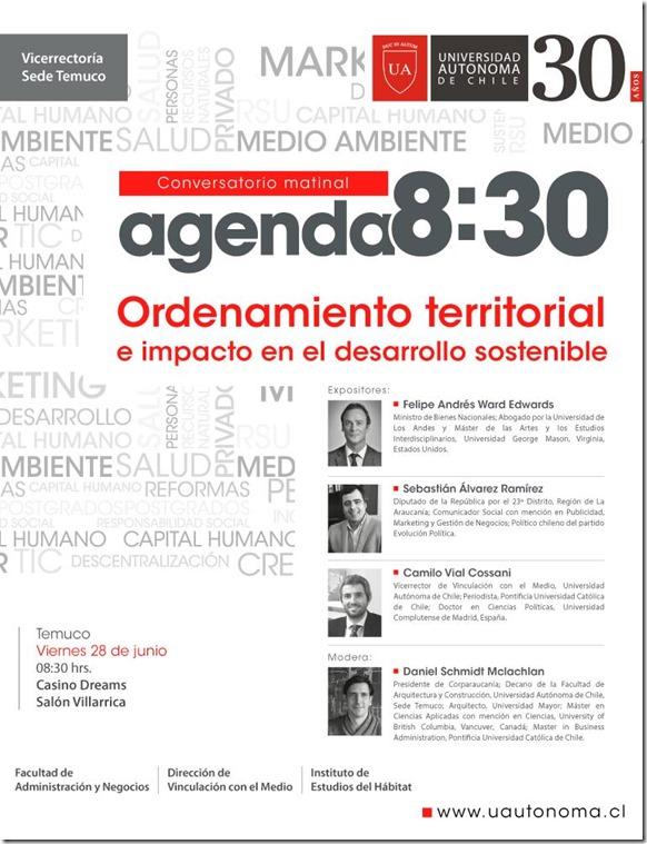 agenda 830