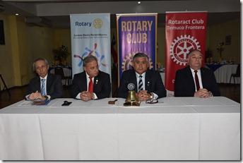 Directiva Rotary Club Temuco Frontera