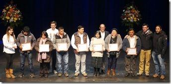 120 Agricultores de Villarrica se certifican en Curso de Turismo Rural